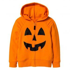 Halloween Pumpkin Orange Hoodie