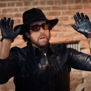 Harry Keshegian Adam Goldberg The Equalizer S02 Black Leather Jacket