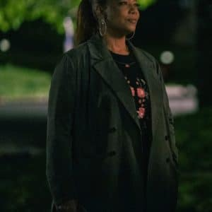 Queen Latifah The Equalizer Season 2 Robyn McCall Grey Trench Coat