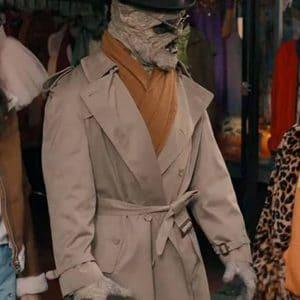 Mummy Under Wraps Beige Trench Coat