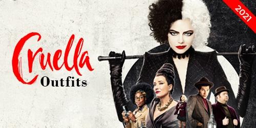 Cruella 2021 Jackets and Coats