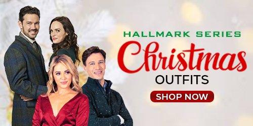 Hallmark Series Christmas Outfits banner